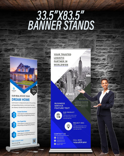 WWR  Retractable Banner Stand