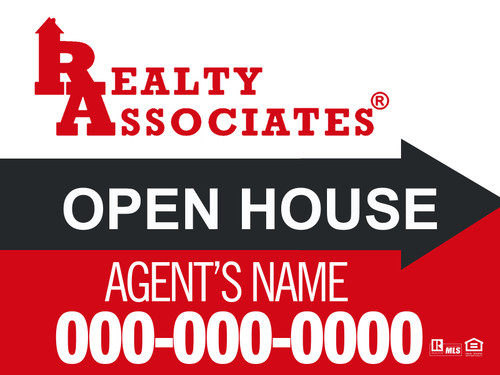 RA  Open House Sign