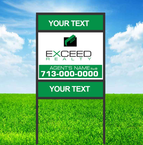 Exceed 18X24 Double Rider Sign Unit 1