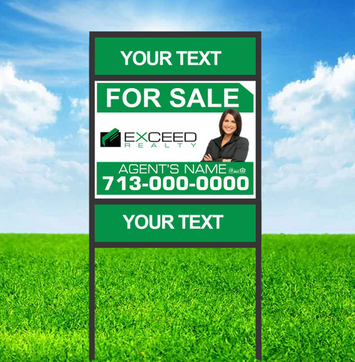 Exceed 18X24 Double Rider Sign Unit 2