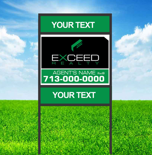 Exceed 18X24 Double Rider Sign Unit 3