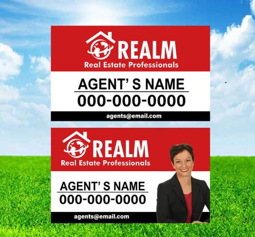 Realm 18X30 SIGN PANELS