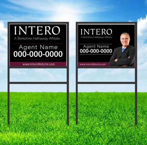 Intero 18X24 Single Rider Sign Unit 2