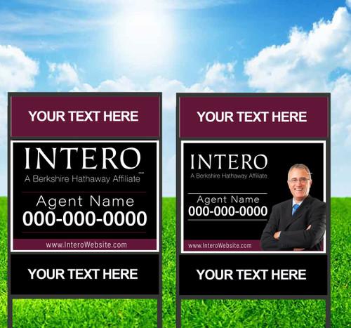 Intero 18X24 Double Rider Sign Unit 2