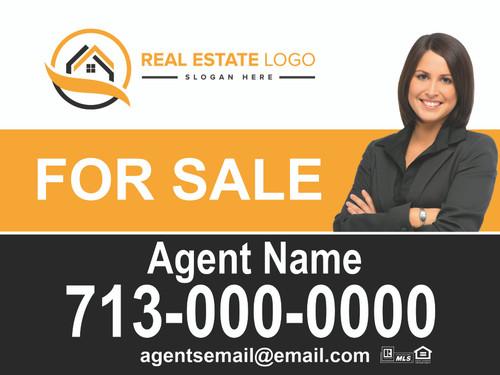 Custom Real Estate Sign Panel