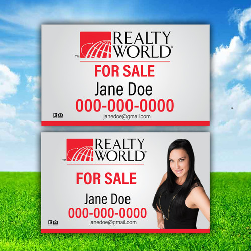 Realty World 18X30 SIGN PANELS