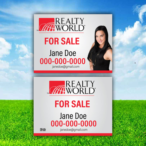 Realty World  Real Sign Panel 1