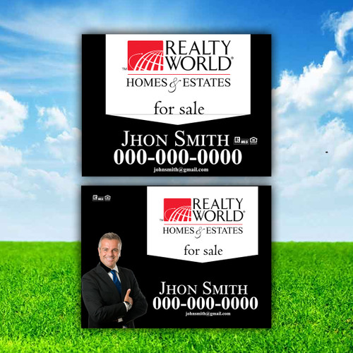 Realty World  Real Sign Panel 2