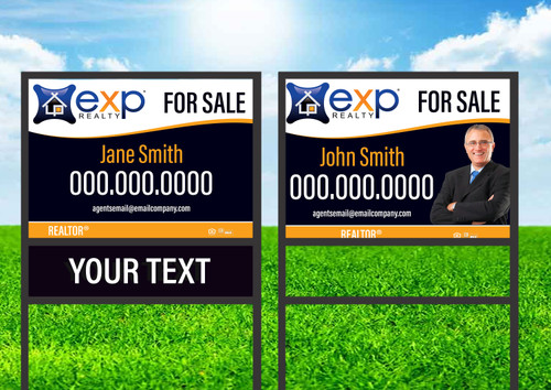 EXP Realty  Single Rider Sign Unit 2