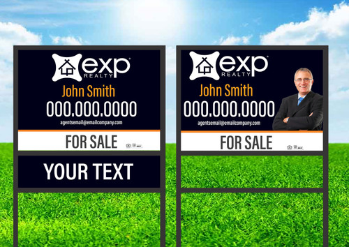 EXP Realty  Single Rider Sign Unit 4