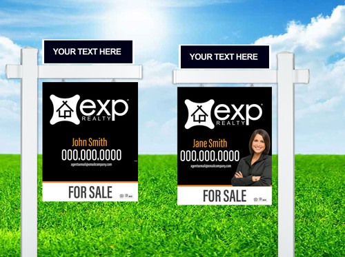 EXP Realty Colonial Post Sign Unit 4