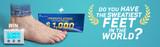 World's Sweatiest Feet: Win $1,000 + A Dermadry