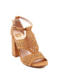 Amala Heeled Sandal in Camel