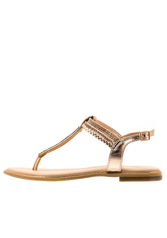 07543ce66 Mira Summer Sandals Rose Gold