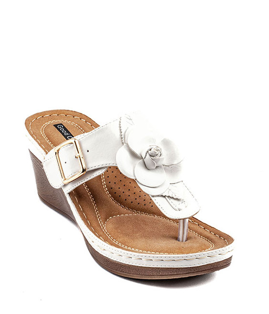 Gc Shoes Flora Sandal White