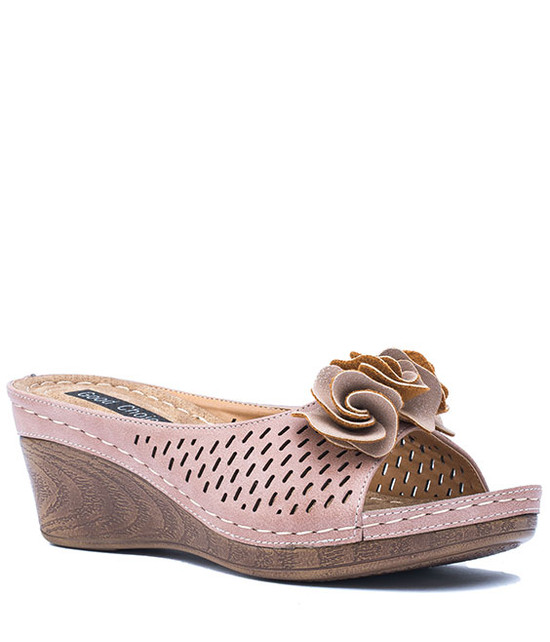 Good Choice Shoes Juliet Blush Wedge