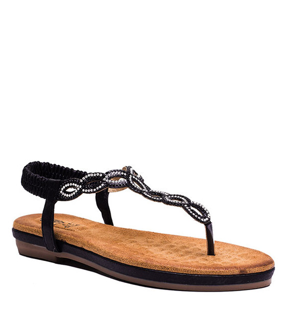 Azura Women MF Sandals Black