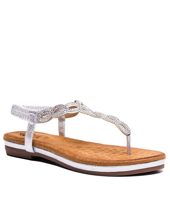 Azura Women MF Sandals Silver