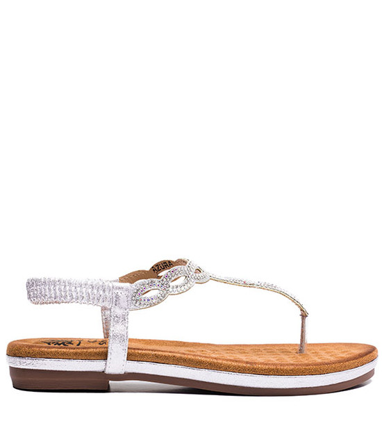 Gc. Shoes  Azura Women MF Sandals Silver