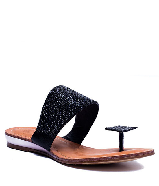 Dollie Sandal in Black