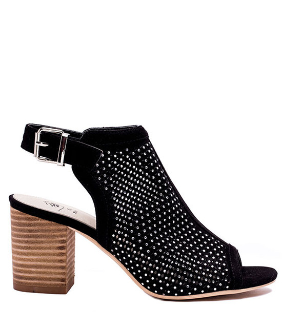 Jolene Women Slip On Sandals Black