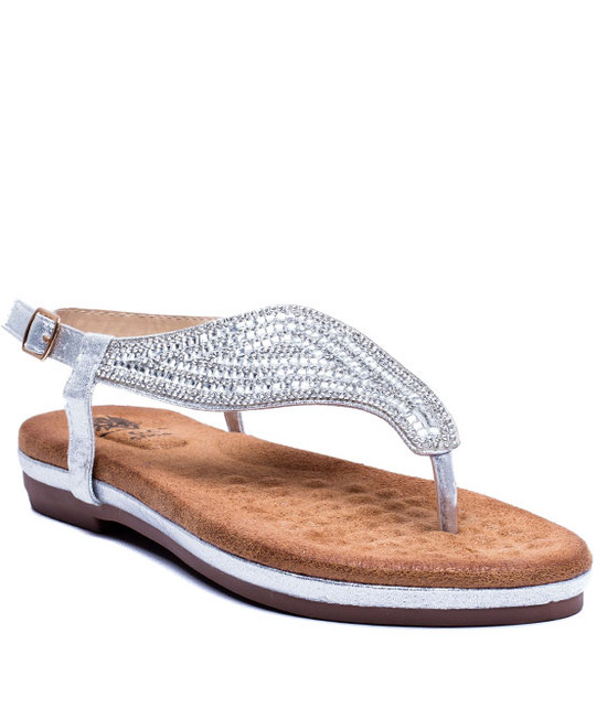 Gc. Shoes Mira Summer Sandals Silver