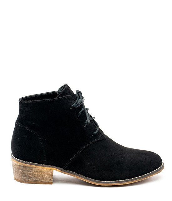 Gc Shoes Brady Lace Up Bootie Black