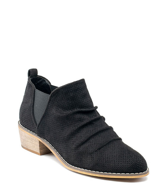 Gc Shoes Chelse Slim On Bootie Black
