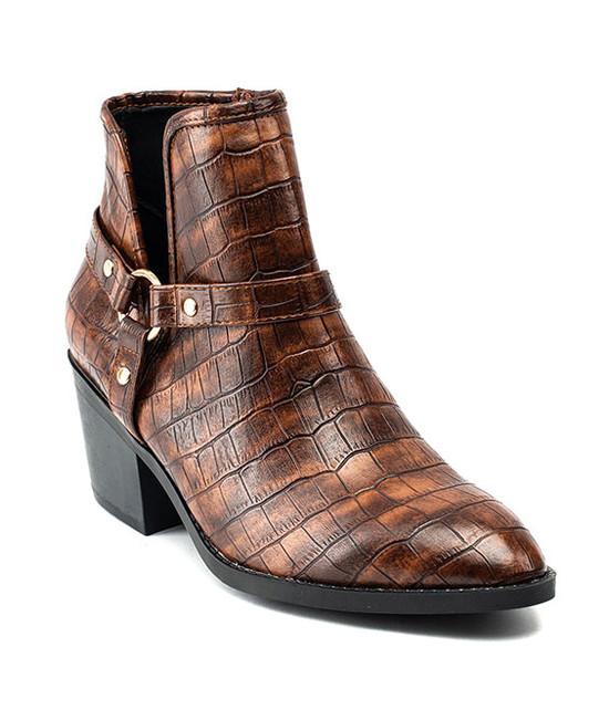 Gc Shoes Dover Bootie Cognac