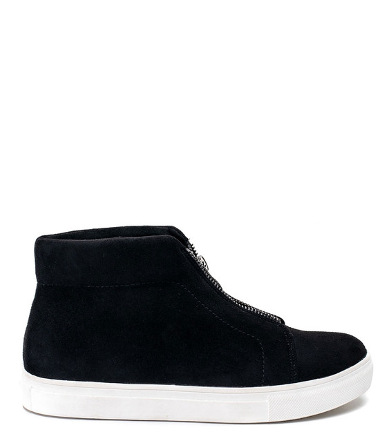 Coby Women High Top Sneaker Black