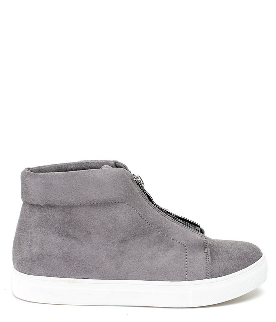 Coby Women High Top Sneaker Grey