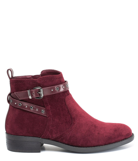 Cassidy Ankle Bootie in Red
