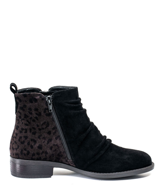 Nori Ankle Bootie in Black