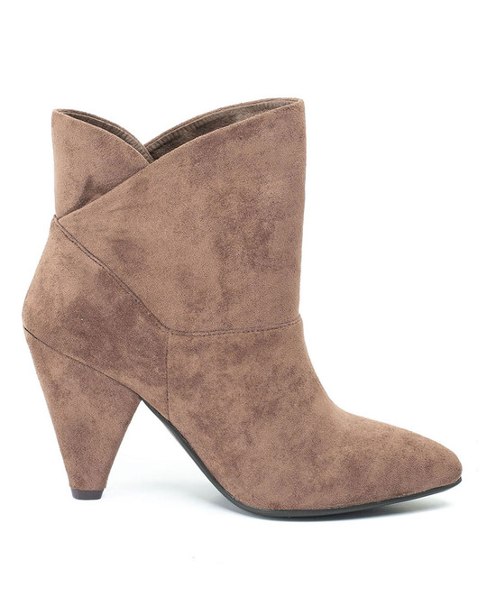 Flores Bootie in Taupe