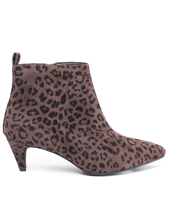 Gc. Shoes Aden Ankle Bootie Leopard