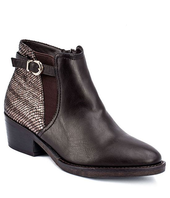 Gc Shoes Margo Ankle Bootie Brown