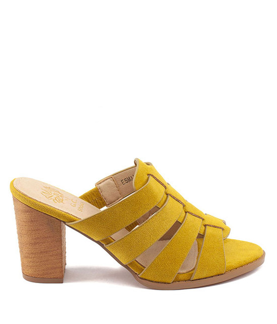 Esmay Sandal by Gc. Shoes Mustard