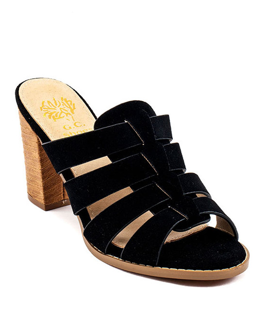 Esmay Sandal by Gc. Shoes Black