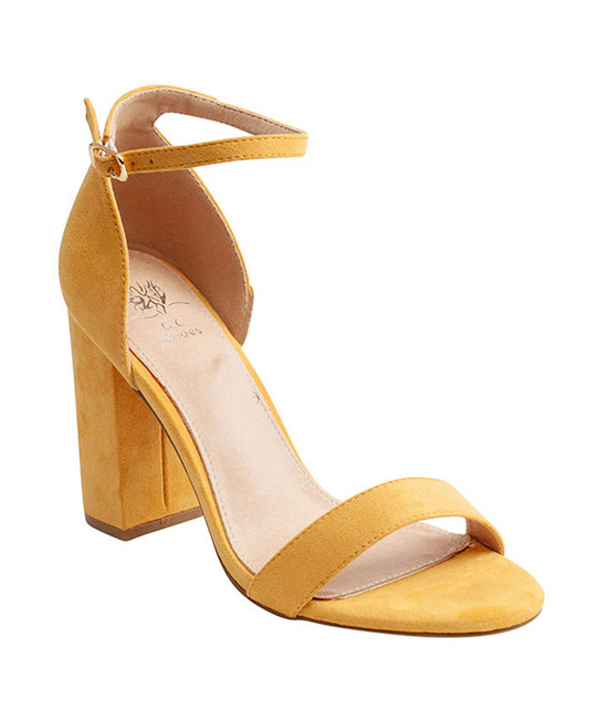 Meli Sandal By Gc. Shoes Yellow
