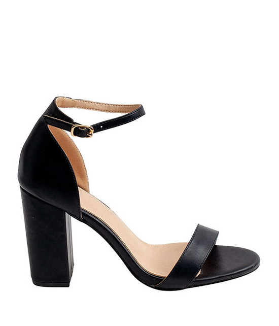 Meli Sandal By Gc. Shoes Black
