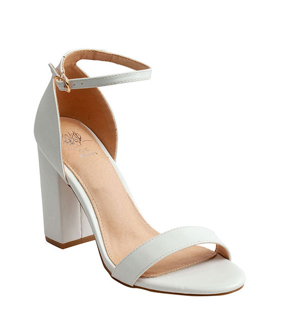 Meli Sandal By Gc. Shoes White
