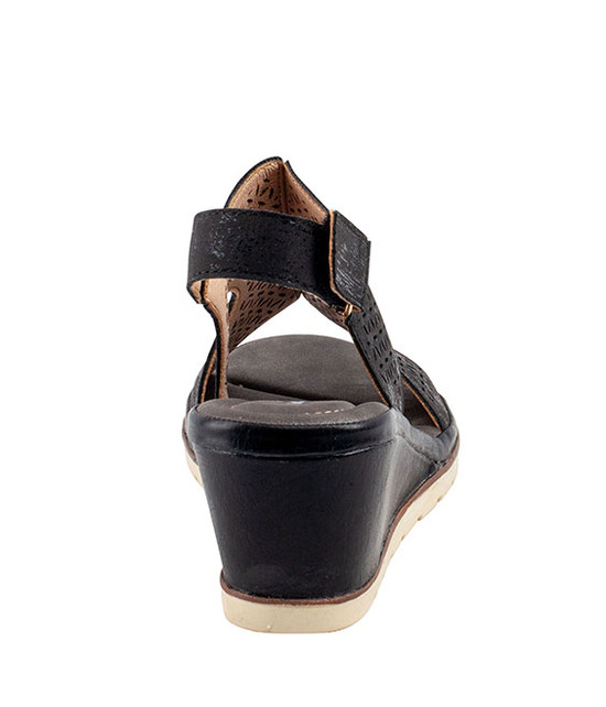 Crissy Sandal By Gc. Shoes Black