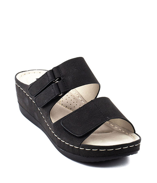 Doreen Slip - On Women Sandal By Gc. Shoes Black