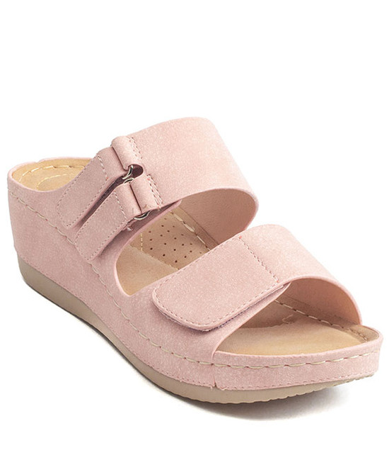 Doreen Slip - On Women Sandal By Gc. Shoes Blush