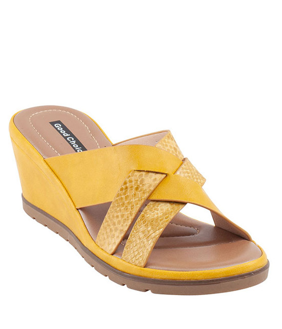 Ibiza Sandal Gc Shoes Yellow