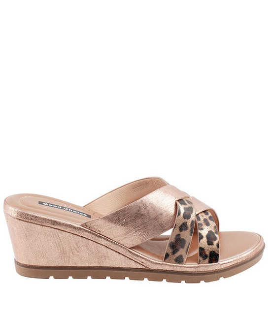 Ibiza Sandal Gc Shoes Rose Gold