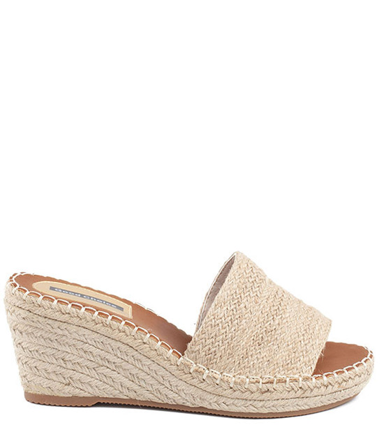 Deanna Wedge Slip - On Women Sandal Natural