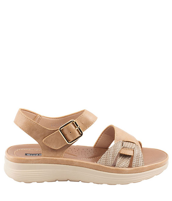 Marlin Sandal By Gc. Shoes Beige