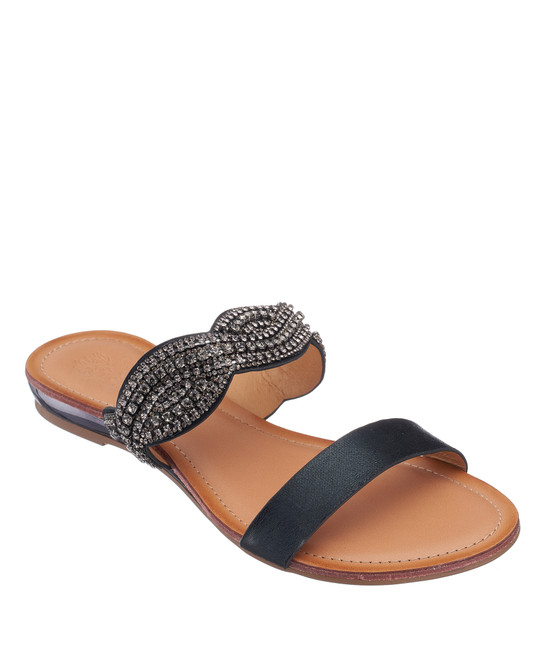 Jacey Sandal in Black
