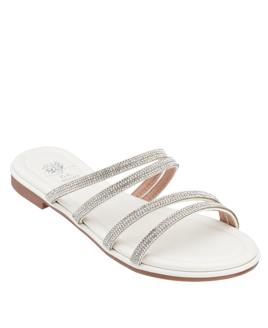 Cindy Sandal in White